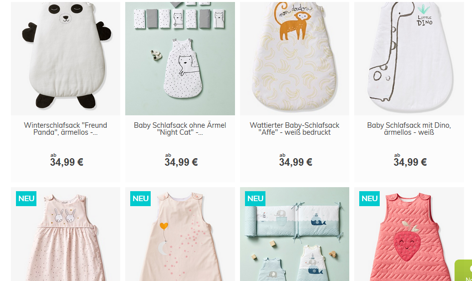 vertbaudet babyschlafsäcke